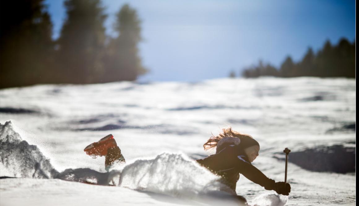 skiierfalling